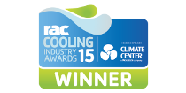 RAC Cooling Winner Award logo
